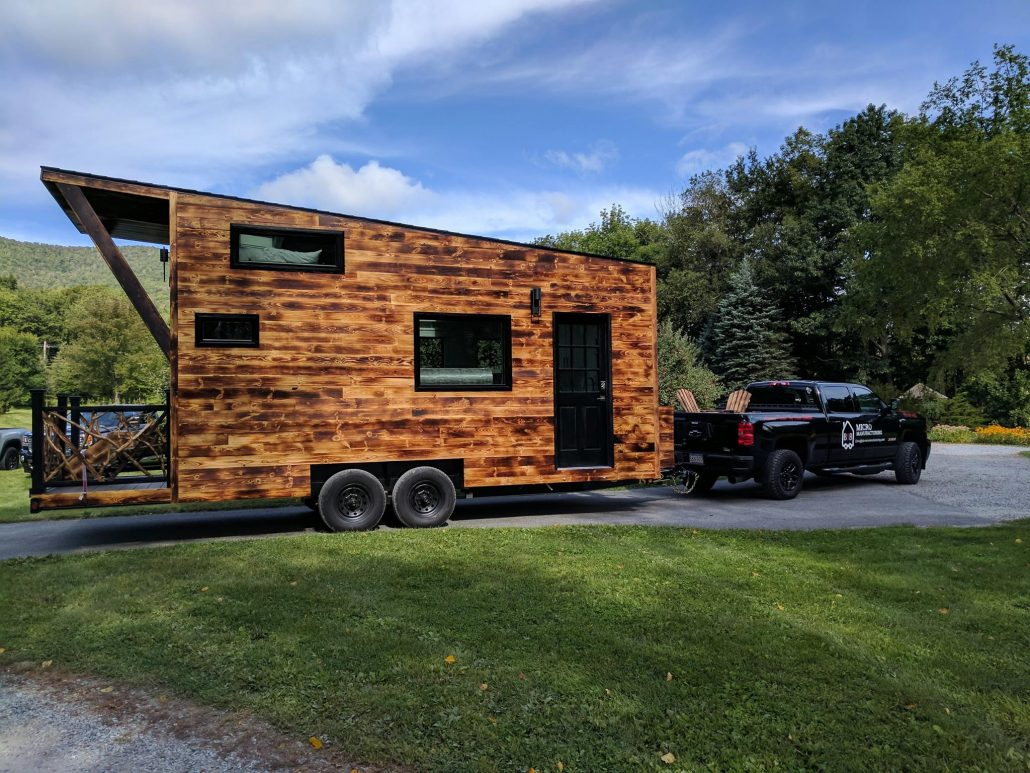 land for tiny house. The Arcadia Tiny House Featured In Land Report Magazine For