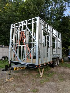DIY Tiny House Frames Let You Start From Scratch With A Bare Bones Wood Or Steel Frame