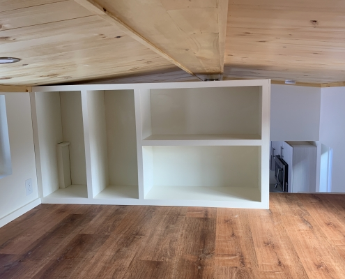 Kinderhook Tiny House Loft Storage