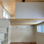 Kinderhook Tiny House Sleeping Loft with Storage