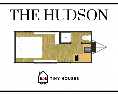 HUDSON TINY HOUSE FLOOR PLAN