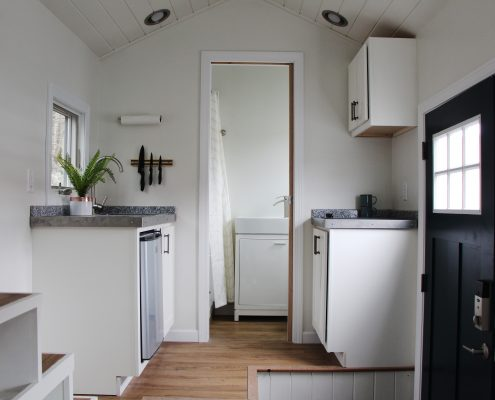 tiny homes kitchen b&b new england