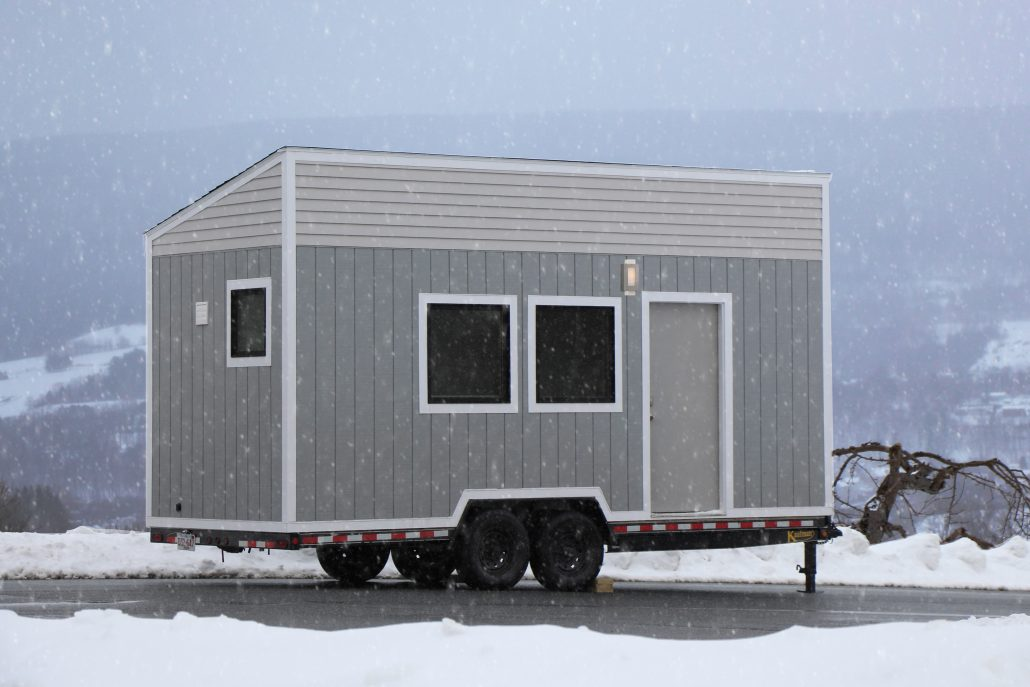 Brodie Mobile Office/Studio - Tiny House Builders - B&B Micro