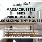 legalizing tiny homes new England Massachusetts