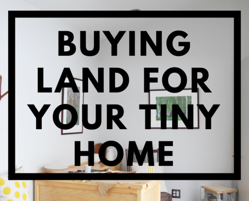 new england tiny homes land