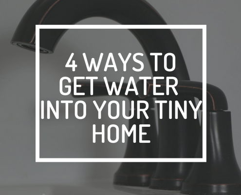 4 ways to get water into your tiny home new england