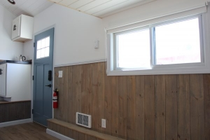 in wall heater new england tiny home