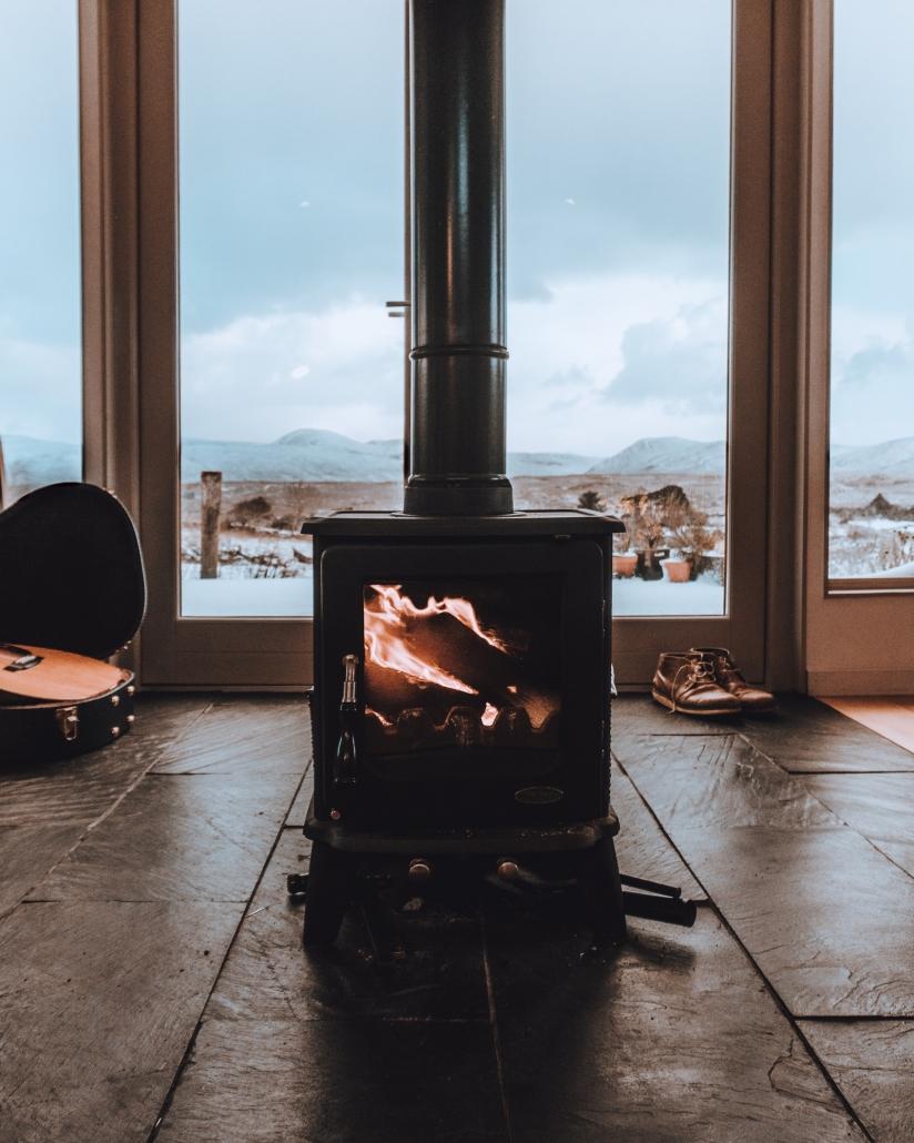 wood stove heater
