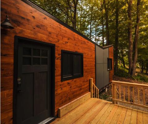 Silver Lake Tiny House Deck Porch