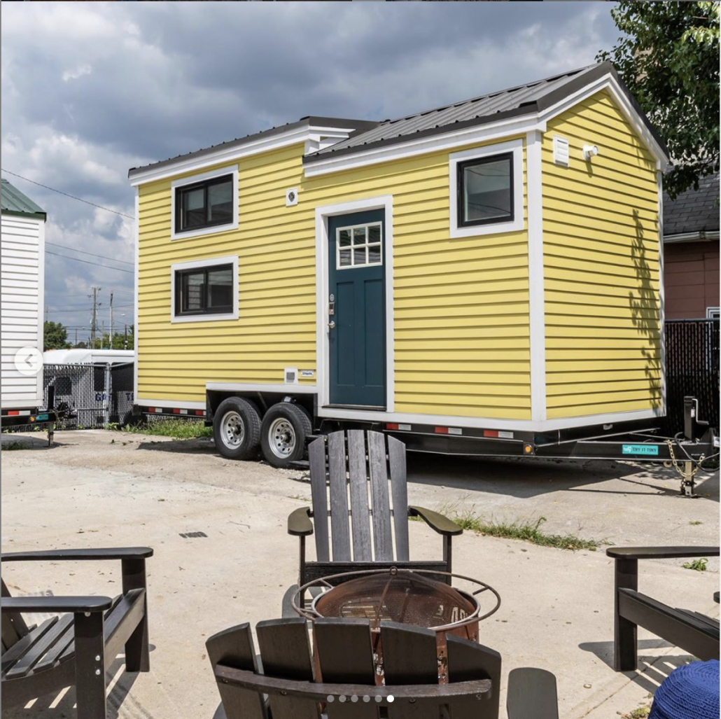 Hoosic Tiny House- photo by Try It Tiny